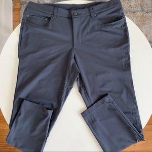 Lululemon ABC Pant Slim Pants 36x30 Dark Gray